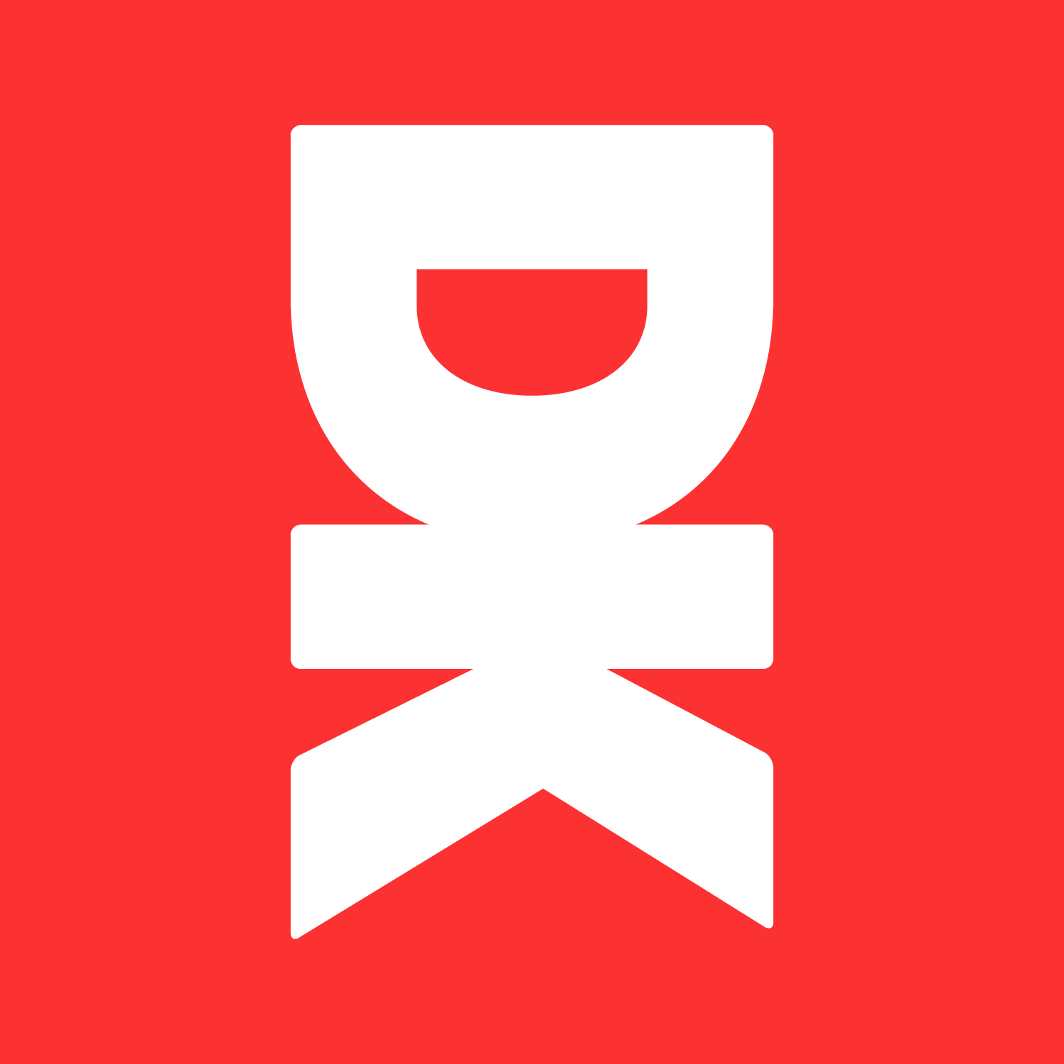The Sites logo which is a red square with a white glyph in the middle. The glyph is made up of the letters D and K stacked vertically.